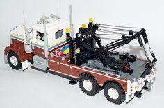 Kenworth W900 Wrecker #truck #kenworth #moc