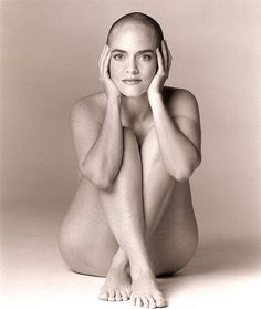 Bald nude models