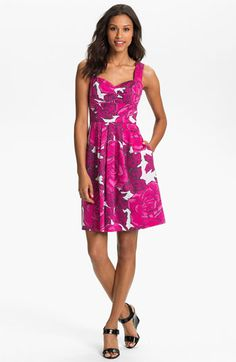 Pink peonies for the races. From Nordstrom