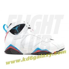 sale retailer 18a20 fa407 Air Jordan 7 retro orion white orion blue black infrared Jordan 7, Jordan  Shoes,