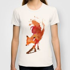Vulpes+vulpes+T-shirt+by+Robert+Farkas+-+$22.00