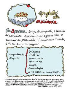 Spaghetti alla marinara, ricetta - Aimee Bender