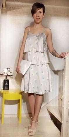 Acabamos con este vestido de @sandroferroneofficial: tejido satén en tonos beige y azules, es vaporoso, original y fresco. Complementos: bolso #desigual y zapatos de @tacchizapatateria  #fiesta #andyswoman #looksandys #outfit #barbastro #fashion #moda #trendy #modamujer #fashionista #multimarca #prendas #style #novedades #tendencia #primavera #verano (scheduled via http://www.tailwindapp.com?utm_source=pinterest&utm_medium=twpin)