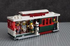 Incredibly Accurate LEGO Cable Car Includes People From The Midwest, German Tourists: SFist