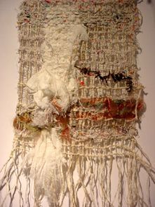 Pat Maloney constructed textile