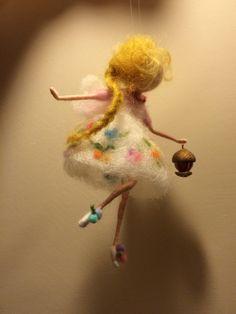 Hadas de fieltro de aguja Waldorf inspirado hadas de por DreamsLab3