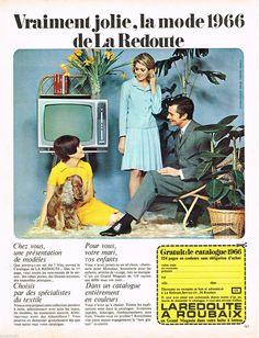 publicit advertising 1963 pret porter vetements la. Black Bedroom Furniture Sets. Home Design Ideas
