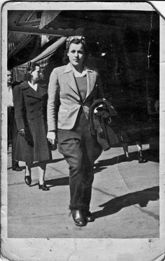 woman working during war years
