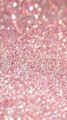 #Pink #Glitter #Wallpaper