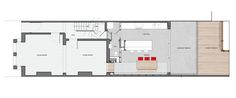Floor plan by Thomas & Spiers Architects