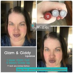 Glam & Giddy LipSense is a CUSTOM LipColor created by layering two Limited Edition colors : Glam Doll and Giddy Up. Gorgeous mix to create a perfect FALL color. Click the pic to purchase yours before they are gone forever! Click to purchase yours NOW!!  #glamdoll #giddyup #lipsense #senegence #newlipsense #limitededition