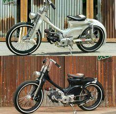 Honda 90, Honda Bikes, Honda Motorcycles, Vintage Motorcycles, Bobber Motorcycle, Motorcycle Style, Motorcycle Outfit, Honda Scrambler, Motos Honda