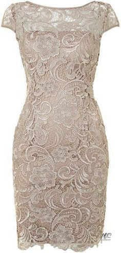 Simple Knee Length Lace Mother of the Bride Dress, Shop plus-sized prom dresses for curvy figures and plus-size party dresses. Ball gowns for prom in plus sizes and short plus-sized prom dresses for Mob Dresses, Bridesmaid Dresses, Formal Dresses, Formal Prom, Bridesmaid Ideas, Dresses 2016, Dresses Online, Fashion Dresses, Lace Dress With Sleeves
