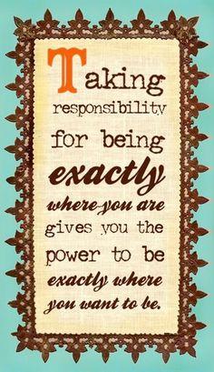 Taking responsibility quote via bravegirlsclub.com