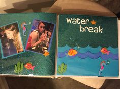 Water break filler page, Gretch's shot book