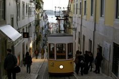 Famous and lovely tramways in Lisboa.