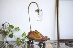 (11)Table Lamp Upcycled Vintage Roller Skates Lamp - studioryx