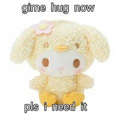25 Ideas Diy Pillows Kawaii Life For 2019 Softies, Plushies, Kawaii Plush, Cute Love Memes, Cute Stuffed Animals, Sanrio Characters, My Melody, Diy Pillows, Mellow Yellow