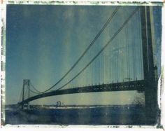 Verrazano Bridge - Polaroid Transfer (8x10) - $75.00 via Etsy