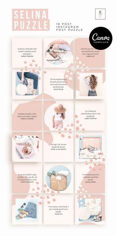 Instagram Feed Tips, Instagram Feed Layout, Instagram Grid, Pink Instagram, Instagram Frame, Instagram Post Template, Foto Instagram, Instagram Design, Instagram Posts