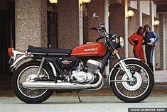 Suzuki two stroke Suzuki Cafe Racer, Cafe Racer Build, Motos Suzuki, Suzuki Bikes, Motorcycle Insurance Quote, Motorised Bike, Gt 500, Japanese Motorcycle, Cafe Racer Motorcycle