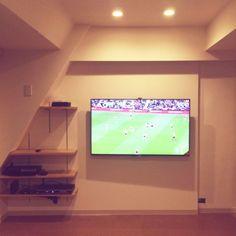 間接照明/壁掛けテレビ…などのインテリア実例 - 2015-02-20 07:09:37 | RoomClip(ルームクリップ)