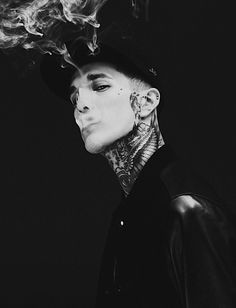 Cool Neck Tattoo Man -4217 | Cool Men Tattoos | Tattoos for Man