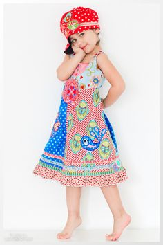 "Farbenmix ""Rosalie""...a pretty colorful a Summer dress for you dear ..<3 Vylette <3"