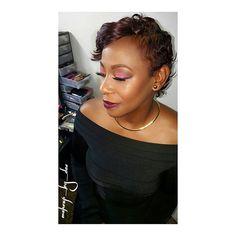 Did that 💋❤💄 #makeupbydae #beatface #fullface