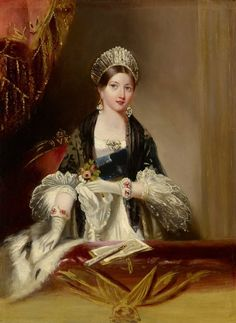 A very young Queen Victoria