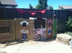 Cowboy party decoration!!!