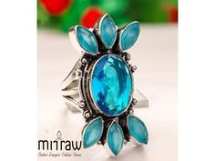 Up to off on attractive gemstone rings. Visit our website Mirraw to buy such type of rings. Looking To Buy, Types Of Rings, Rings Online, Sapphire Gemstone, Natural Gemstones, Gemstone Jewelry, Emerald, Turquoise, Pearls