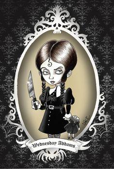 Addams Family Wednesday