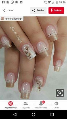 Colorful Nail Designs, Nail Designs Spring, Nail Art Designs, Gorgeous Nails, Pretty Nails, Lace Nail Design, Summer Nails 2018, Fancy Nail Art, Manicure Nail Designs