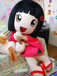 キャナルシティ博多(福岡市博多区住吉1)地下1階サンプラザステージに5月20日、太宰府のご当地キャラクター・千梅ちゃんが登場する。
