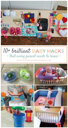 Affordable baby hacks tried and tested that will make life a little easier with a child.