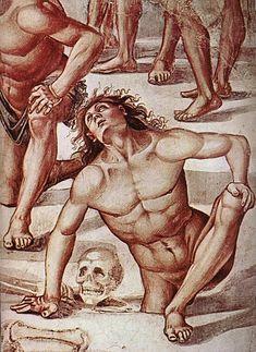 Luca signorelli, cappella di san brizio, resurrezione dei corpi - Cappella di San Brizio -