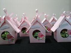Lancheirinhas para aniversário tema Passarinho produzidas por Mônica Guedes