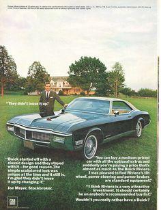 1968 Buick Riviera vintage ad