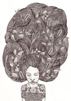 Bad Hair Day II  by Samantha Dolan