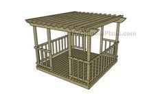 Deck Pergola Plans