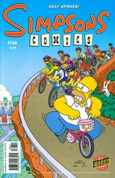 simpsons comic 166 | ... Comic Collector Connect » Comic Database » Simpsons Comics » #166