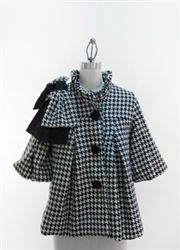 Judith March Jacket - Black & White