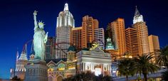 The glamour and style of New York City has a home in Las Vegas. At New York Hotel & Casino Vegas visitors can take a bite of the Big Apple, enjoy Broadway-caliber entertainment, alluring nightlife and Coney Island fun.