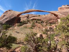 Landscape Arch Arches, Utah, Grand Canyon, Mount Rushmore, My Photos, Mountains, Landscape, Garden, Nature
