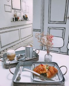 This cafe make you feel like you are in cartoon - aha - interior - cartoon - comic - cafe - seoul - korea - Funny Memes Coffee Shop Design, Cafe Design, Korean Coffee Shop, Sketch Bar, Seoul Cafe, Korean Cafe, Korean Shop, Unique Cafe, Contour Line