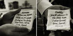 Wedding, Daddy, Momma, handkerchief