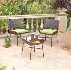 Garden Furniture Jakarta retro moon bistro set - 3 piece | garden furniture | asda direct