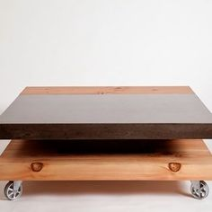 Love this from @custommade - http://www.custommade.com/calvin-coffee-table/by/sticksandstonesfurniture/