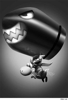 Super Mario Bros. by Adam Law for Super Sketch Squad